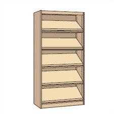 "<strong>Virco</strong> Single-faced Periodical Starter Library 82"" Bookcase"