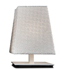 "Quadra Lisbona 12"" H Table Lamp with Rectangle Shade"