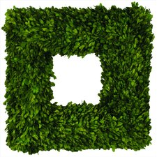 Boxwood Square Wreath