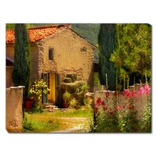 French Farm House Photographic Print on Canvas