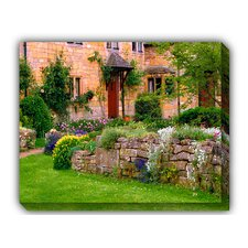 Cotswold Stone Photographic Print on Canvas