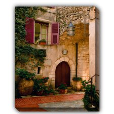 Hostellerie Outdoor Canvas Art