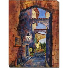Arches of San Gemini Painting Print on Canvas