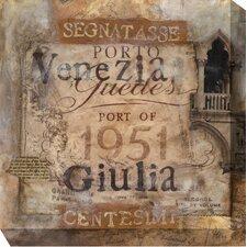 Segnatasse Graphic Art on Canvas