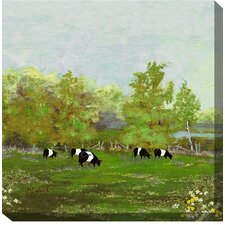 Sweet Spring Painting Print on Canvas