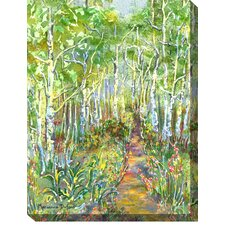 Peaceful Path Painting Print on Canvas