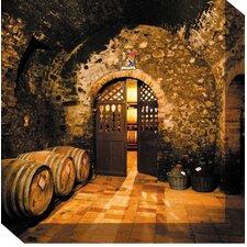 Wine Cellar #3 Photographic Print on Canvas