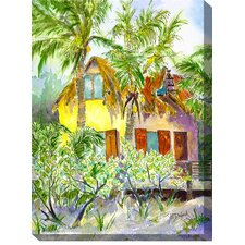 The Hideaway Outdoor Canvas Art