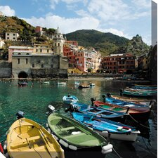 Cinque Terre Photographic Print on Canvas