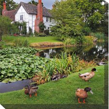 Duck Manor Photographic Print on Canvas