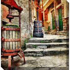 Casalingo Vino Photographic Print on Canvas
