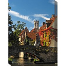 Bruges 10 Photographic Print on Canvas