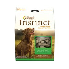 Instinct Biscuit Treat with Lamb Meal, Carrots and Mint