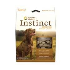 <strong>Nature's Variety</strong> Instinct Biscuit Treat with Duck Meal, Sweet Potato and Cinnamon