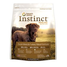 Instinct Grain-Free Duck Meal and Turkey Meal Dry Dog Food