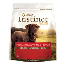 Instinct Grain-Free Beef Meal and Lamb Meal Dry Dog Food
