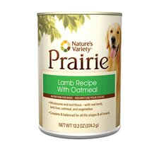 Prairie Lamb Recipe with Oatmeal Canned Dog Food (13.2-oz, case of 12)
