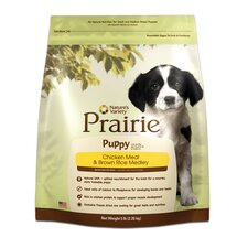 Prairie Puppy Chicken Meal and Brown Rice Medley Dry Dog Food