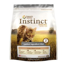 Instinct Grain-Free Limited Ingredient Diet Turkey Meal Dry Cat Food