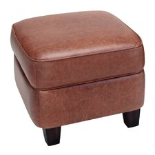 <strong>Opulence Home</strong> Bradford Leather Storage Ottoman