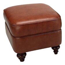 Seville Leather Storage Ottoman
