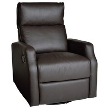 Sidney Leather Chaise Recliner