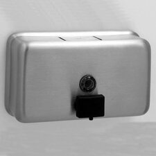 <strong>Bobrick</strong> Classic™ Series Horizontal Tank Soap Dispenser