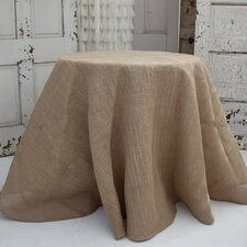 Solid Jute Tablecloth