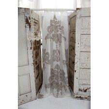 Enchantique Linen Gauze Window Curtain Single Panel
