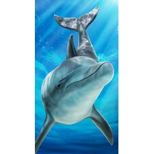 Sea Dolphin Beach Towel