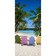 <strong>Kaufman Sales</strong> Tropical Chairs Beach Towel