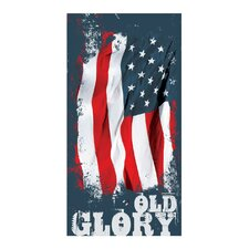 <strong>Kaufman Sales</strong> Old Glory Printed Beach Towel