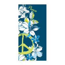 Hibiscus Peace Beach Towel