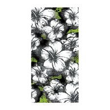 Foil Hibiscus Beach Towel