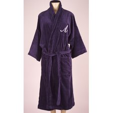 Bathrobe with Monogram Embroidery