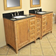 "Elmhurst 73"" Double Basin Vanity Set"