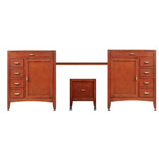 "Metropolitan 97"" Double Basin Vanity Set"