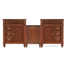 "Martinsville 79"" Double Basin Vanity Set"