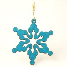 Cloudy Snowflake Ornament
