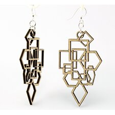 Diamonds and Squares Earrings