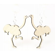 Ostrich Earrings