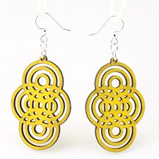Overlapping Circles Earrings