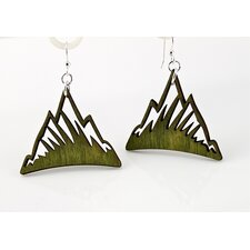 <strong>Green Tree Jewelry</strong> Mountains Earrings