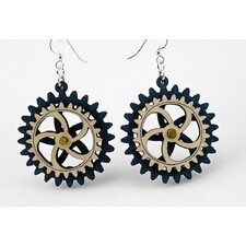 Kinetic Gear 2 Earrings