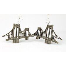 Brooklyn Bridge Drop Earrings