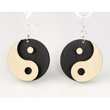 <strong>Green Tree Jewelry</strong> Yin Yang's Earrings
