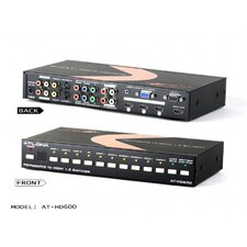 Professional 10-Input Switcher/Scan Converter