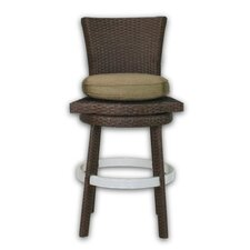 <strong>Patio Heaven</strong> Signature Barstool with Cushion