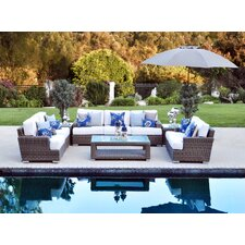 <strong>Patio Heaven</strong> Palisades Deep Seating Group with Cushions