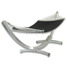 Deluxe Arc Aluminum Hammock with Stand